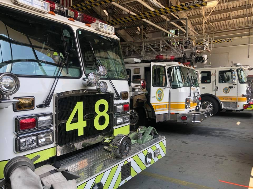 ENGINE 481 TRANSFERS to AA STATION #4